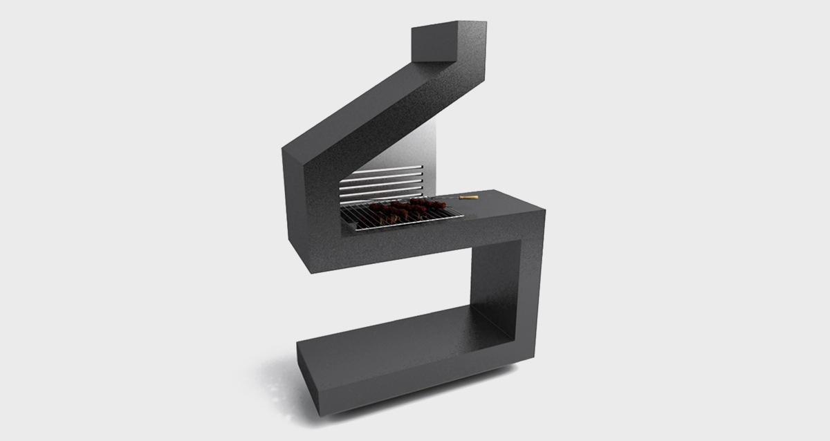 Selegna Design 3d desarrollo producto barbacoas 1