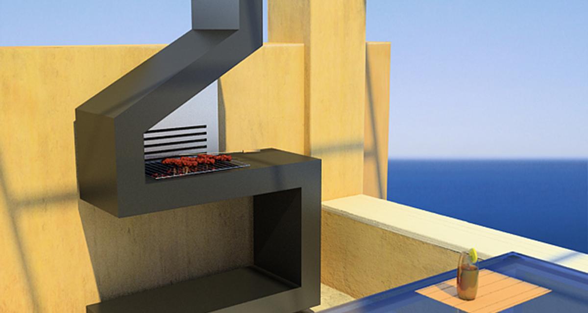 Selegna Design 3d desarrollo producto barbacoas 2