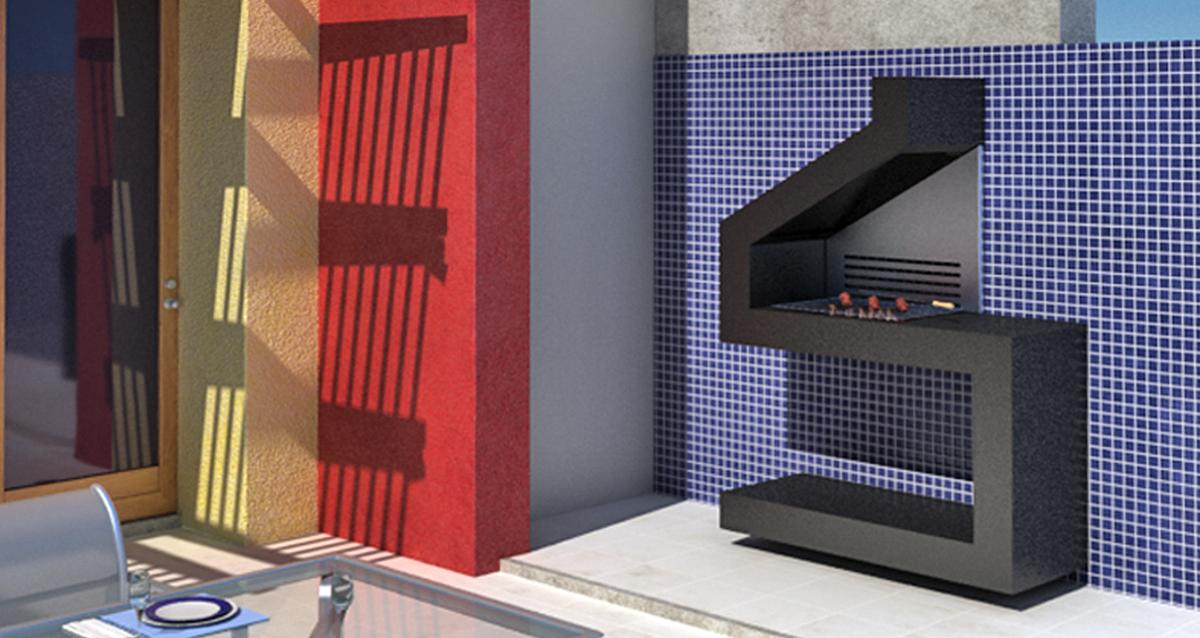 Selegna Design 3d desarrollo producto barbacoas 3
