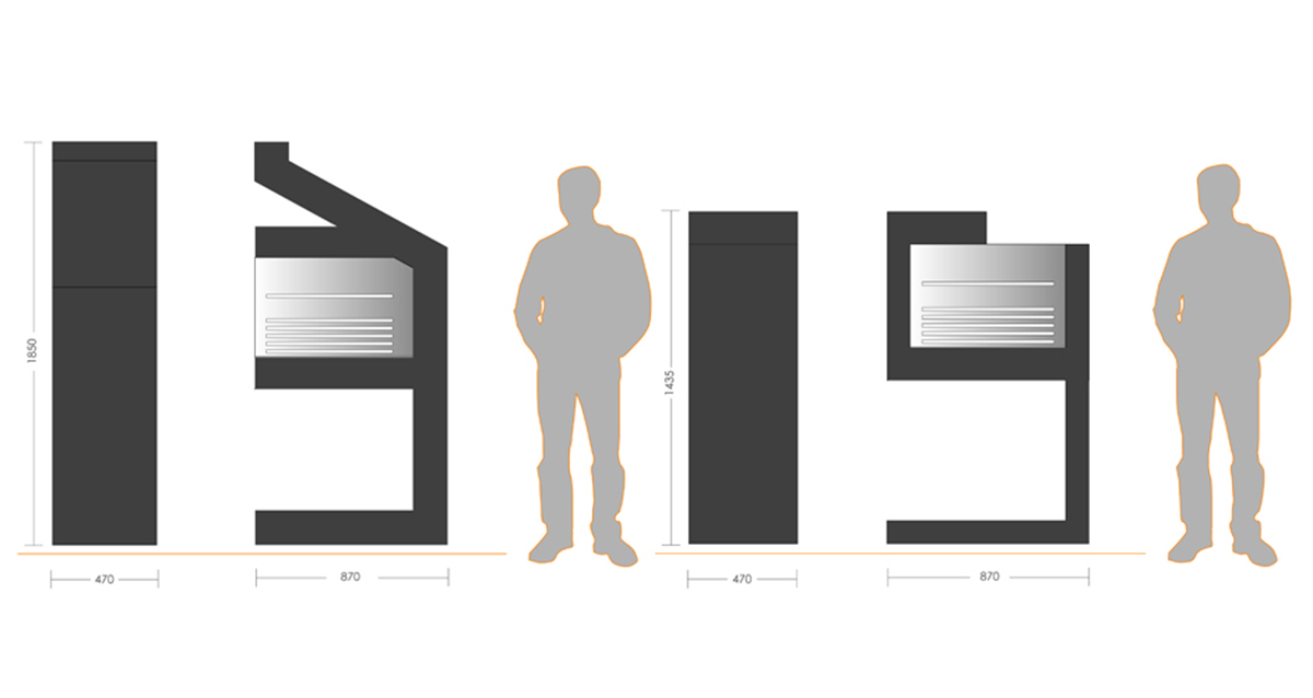 Selegna Design 3d desarrollo producto barbacoas 4