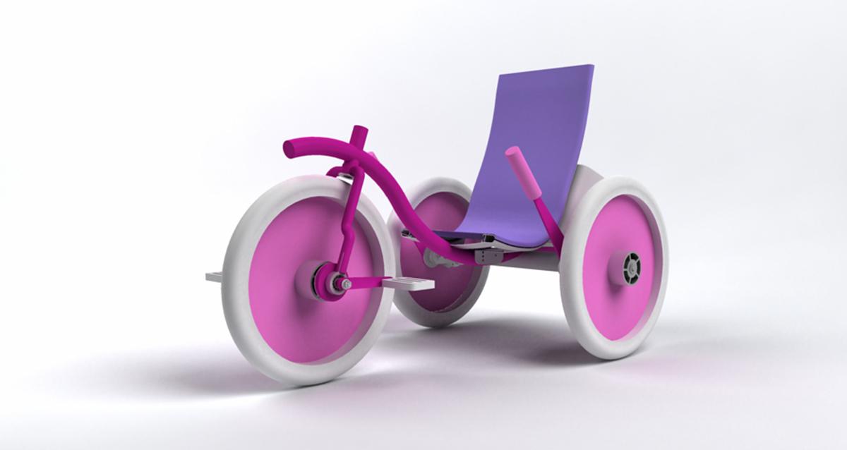 Selegna Design diseño producto triciclo universal 1