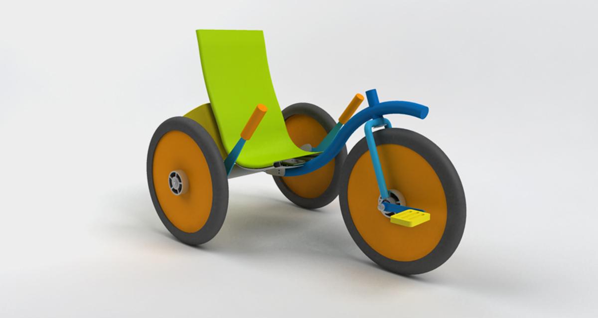 Selegna Design diseño producto triciclo universal 3