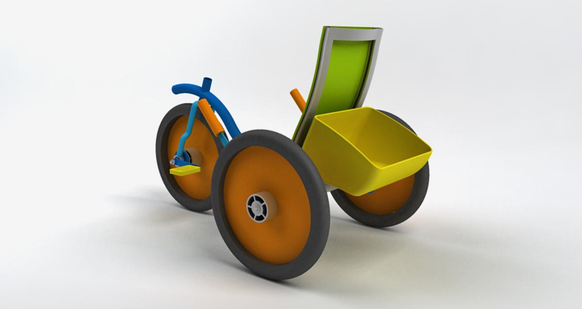 Selegna Design diseño producto triciclo universal 4
