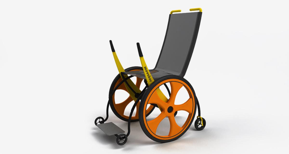 Selegna Design Diseño Silla Ruedas Moveker C1
