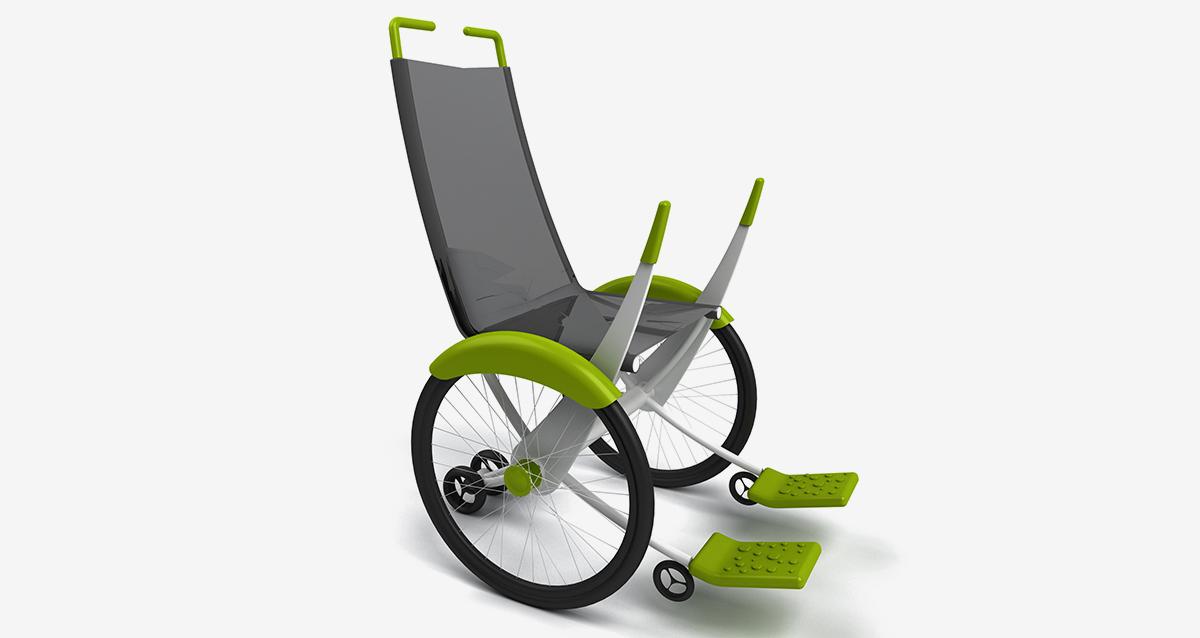 Selegna Design Diseño Silla Ruedas Moveker C1 5
