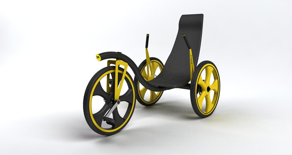 Selegna Design Diseño Producto Triciclo T1 Moveker 1