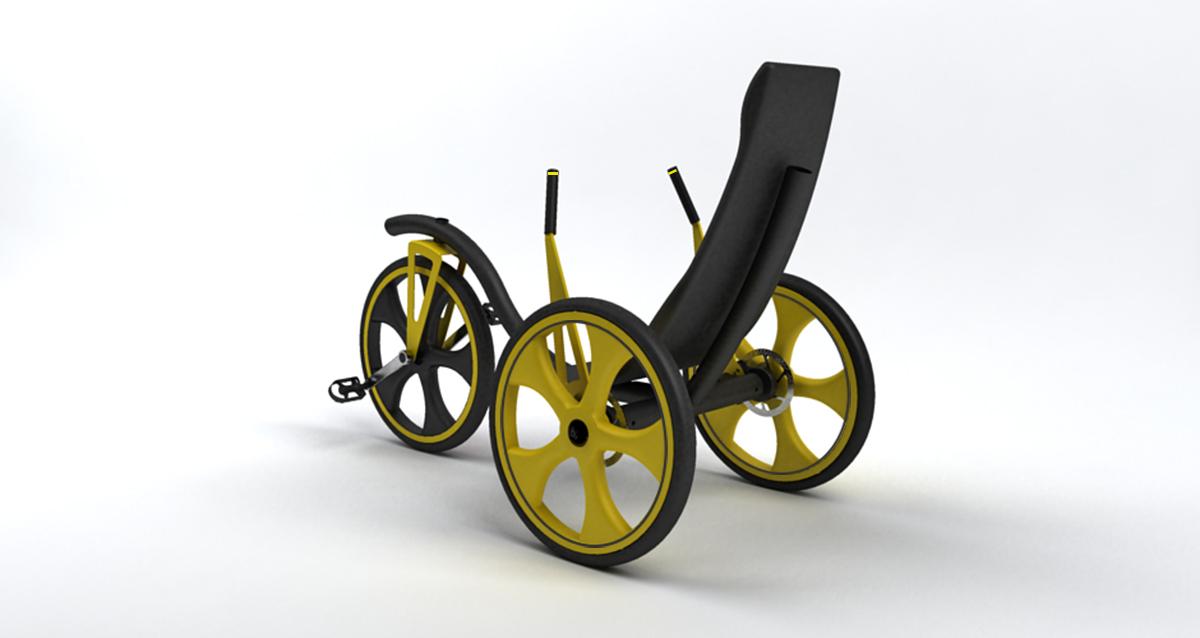 Selegna Design Diseño Producto Triciclo T1 Moveker 2