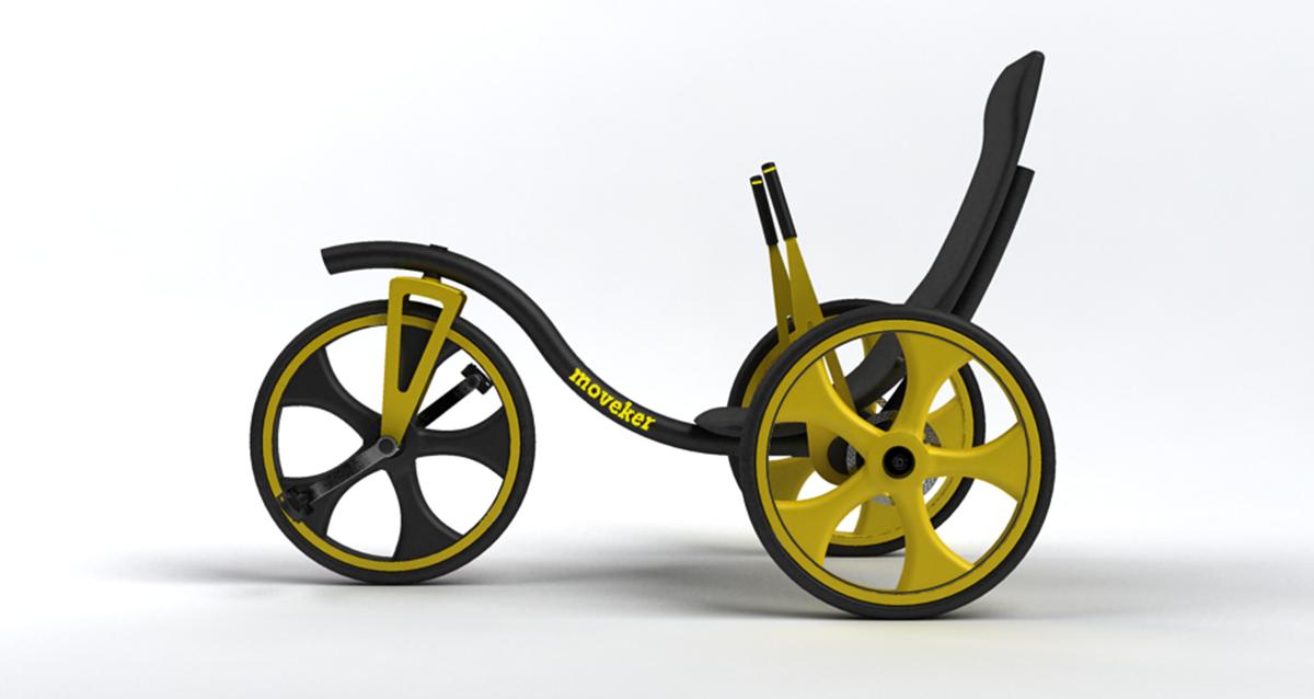 Selegna Design Diseño Producto Triciclo T1 Moveker 3
