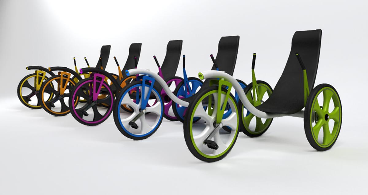 Selegna Design Diseño Producto Triciclo T1 Moveker 4
