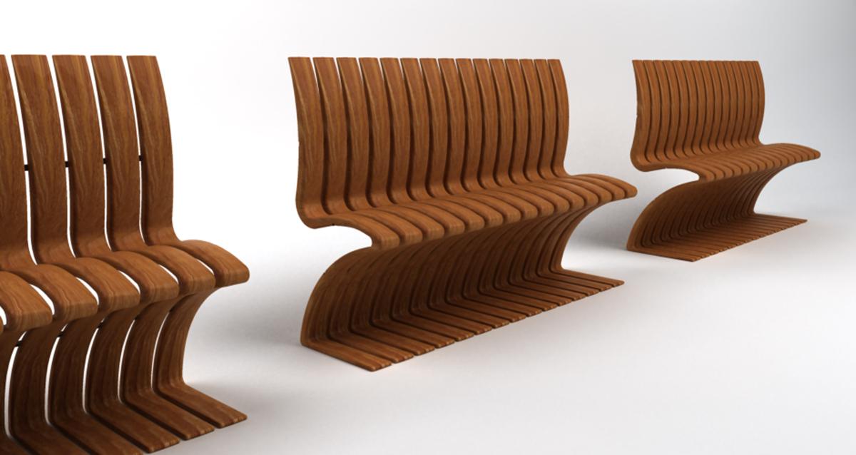 Selegna Design diseño producto banco exteriores 1