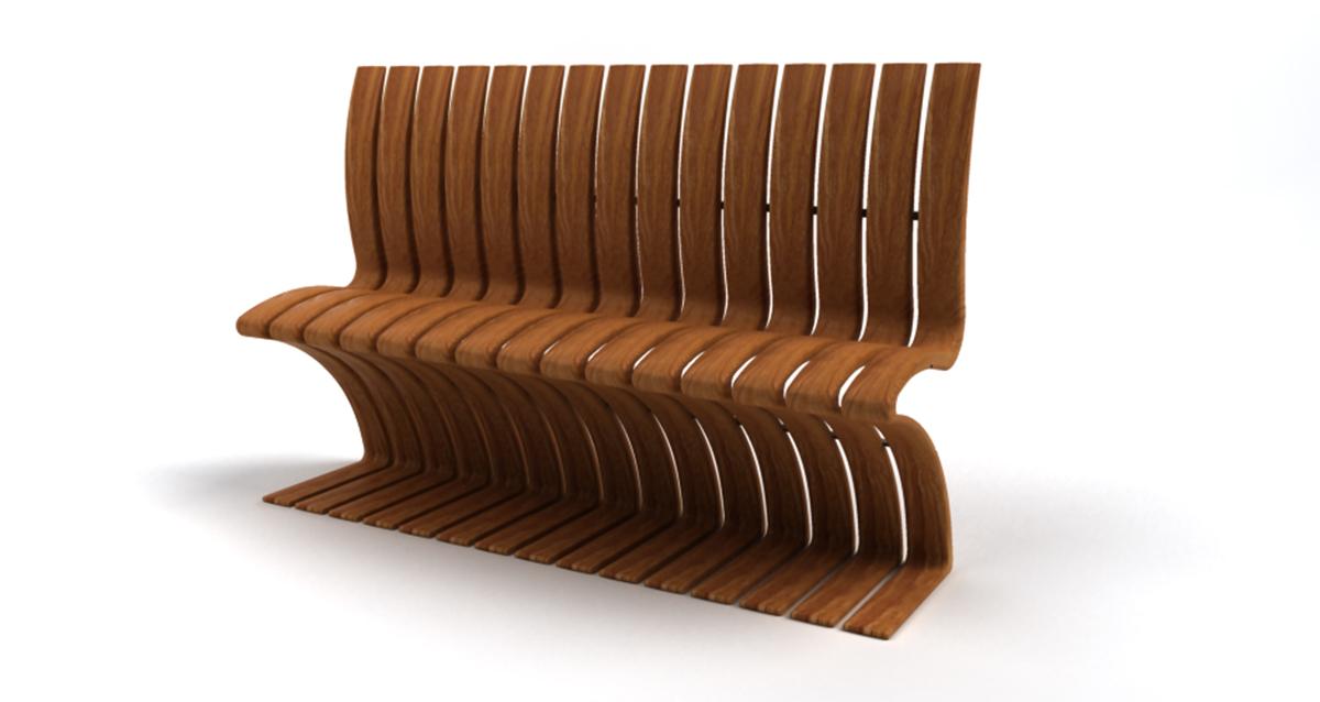 Selegna Design diseño producto banco exteriores 2