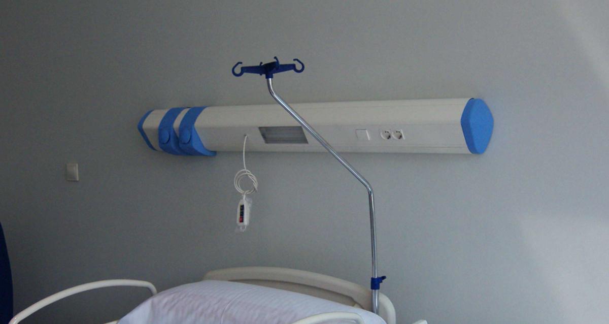 Selegna Design diseño producto cabecero hospitalario Avant 2