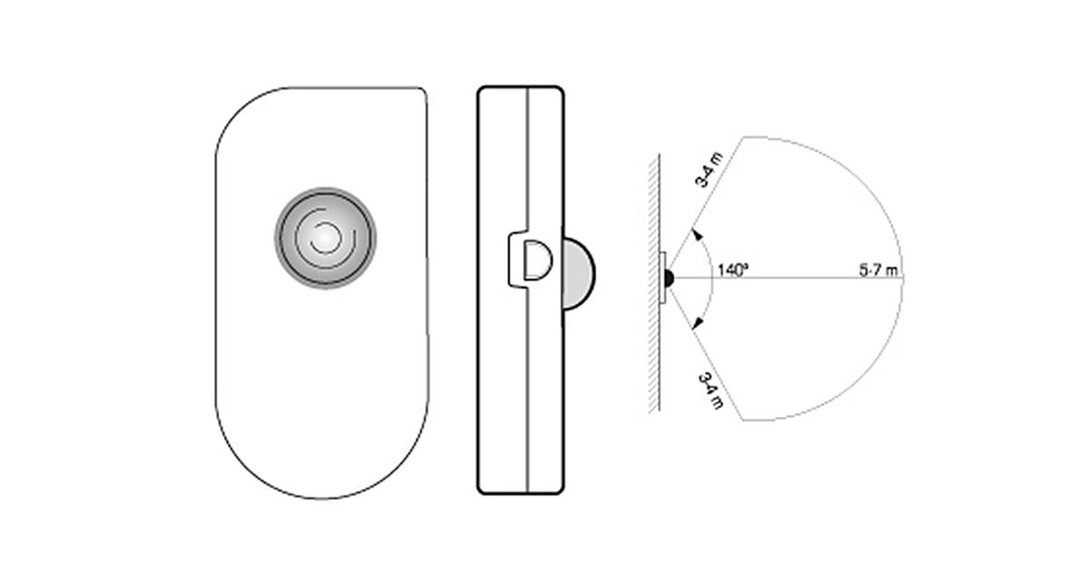 Selegna Design diseño producto detector presencia 4