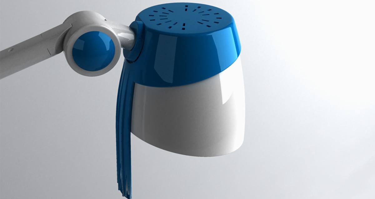 Selegna Design diseño producto lampara reconocimiento medico Athenea 4