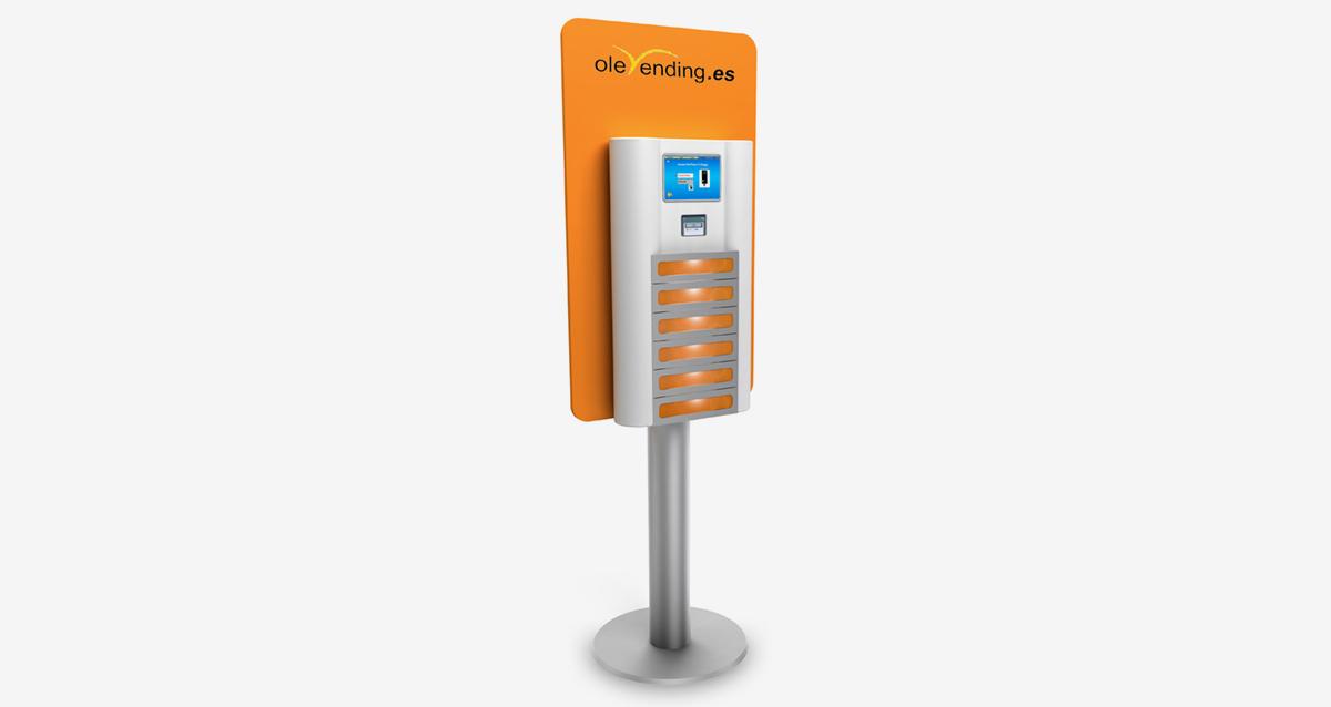 Selegna Design Diseño Maquina Vending Olebox 2