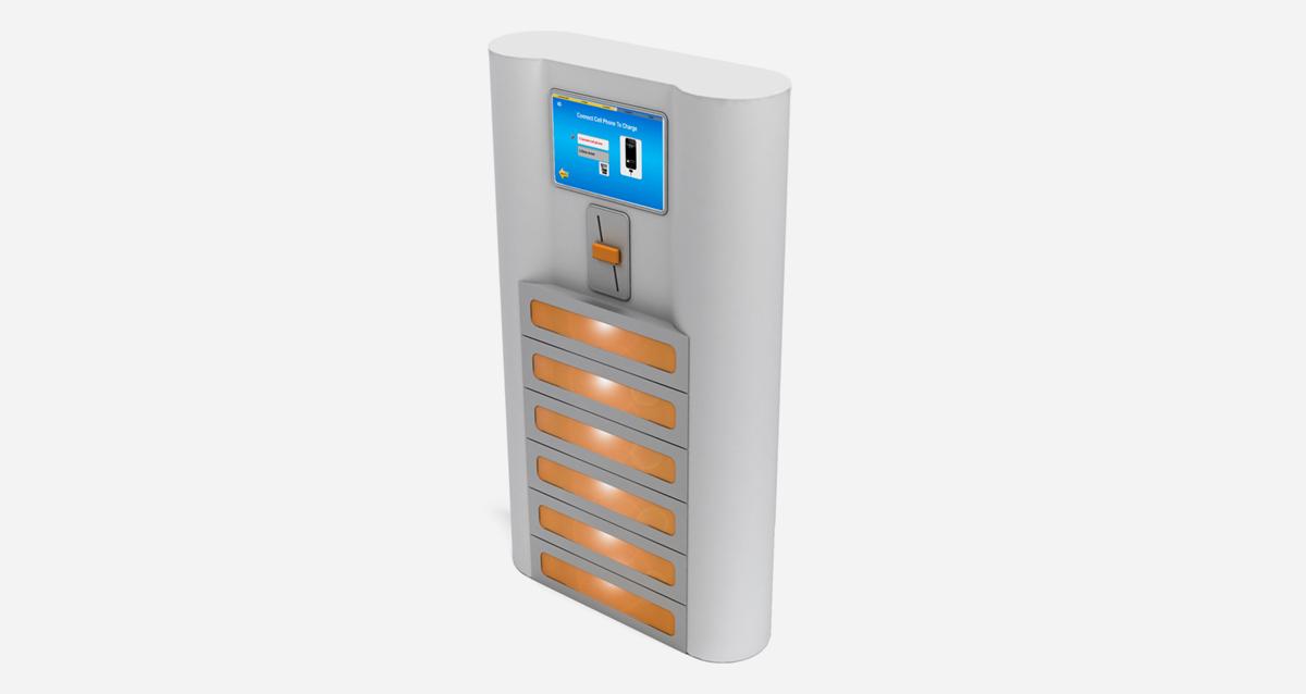 Selegna Design Diseño Maquina Vending Olebox 3