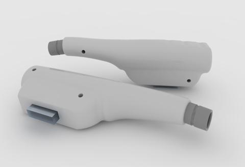 Desarrollo 3D Pistolas Láser
