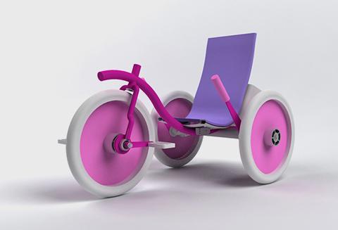 Triciclo Infantil Moveker