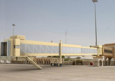 Infografía Pasarela Aeropuerto. Thyssenkrupp