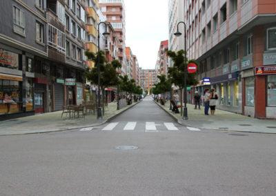 Infografia peatonalización calle Gijón