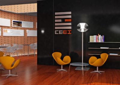 Infografía Cafetería CEEI