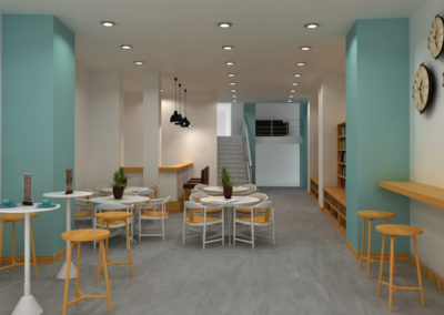 Infografia Libreria Café Santa Teresa