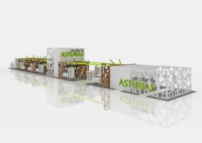 Selegna-infografia-interior-stand-Gourmet-2-Volumetria