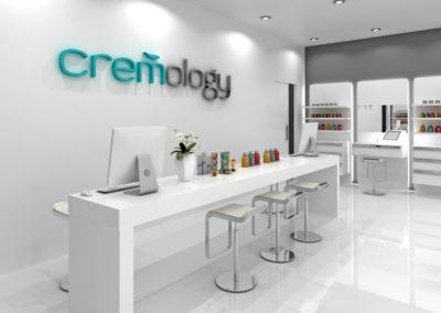 Infografia interior Cremology Store vista 2