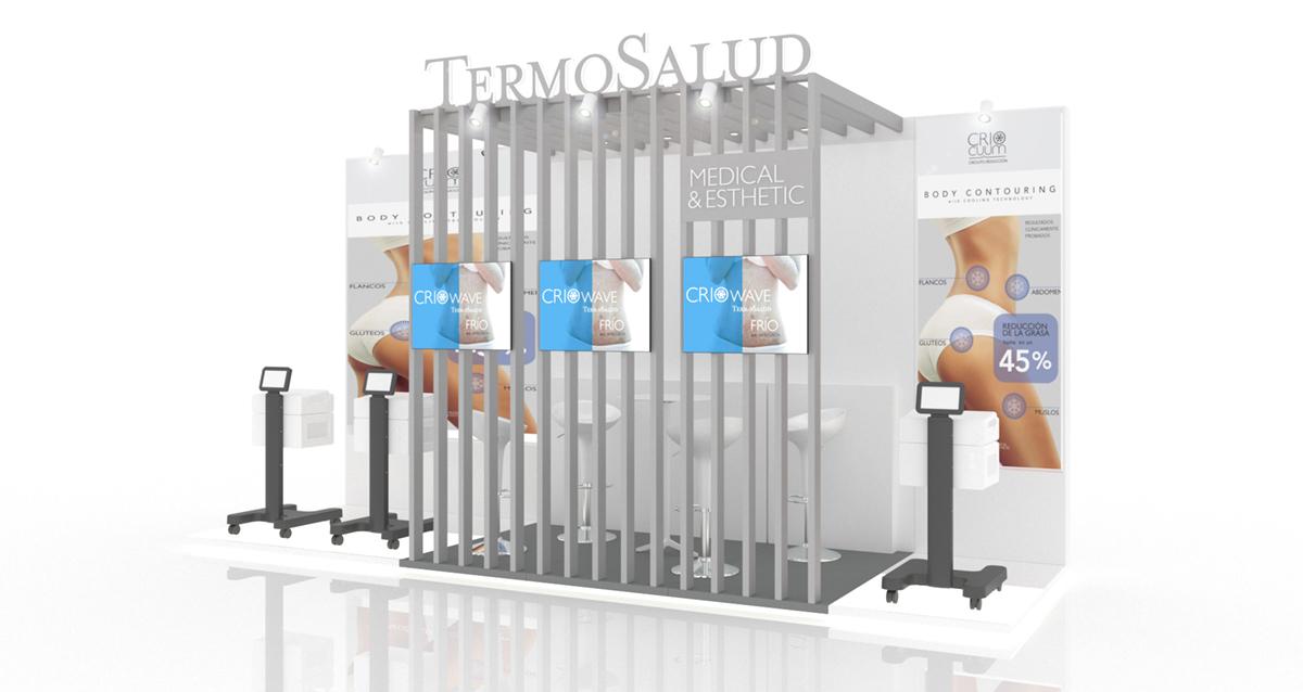 Selegna Design Diseño Stand Modular Termosalud